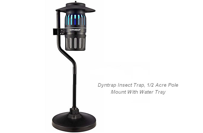 Водяная ловушка Dyntrap Insect Trap, 1/2 Acre Pole Mount With Water Tray