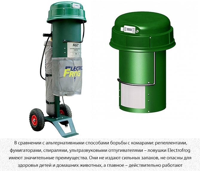 Стационарное средство от комаров ElectroFrog Security