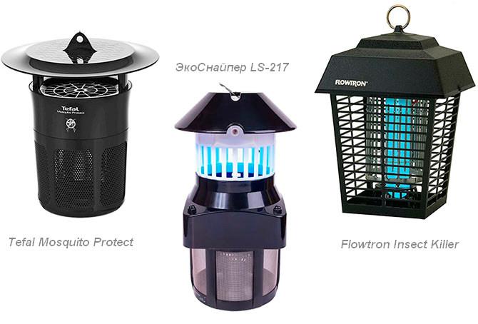 Электрические ультрафиолетовые ловушки для комаров