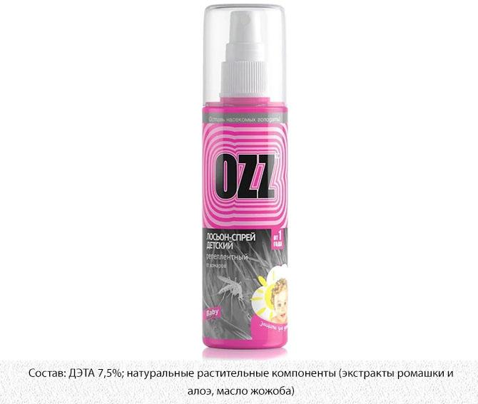Лосьон-спрей детский Ozz