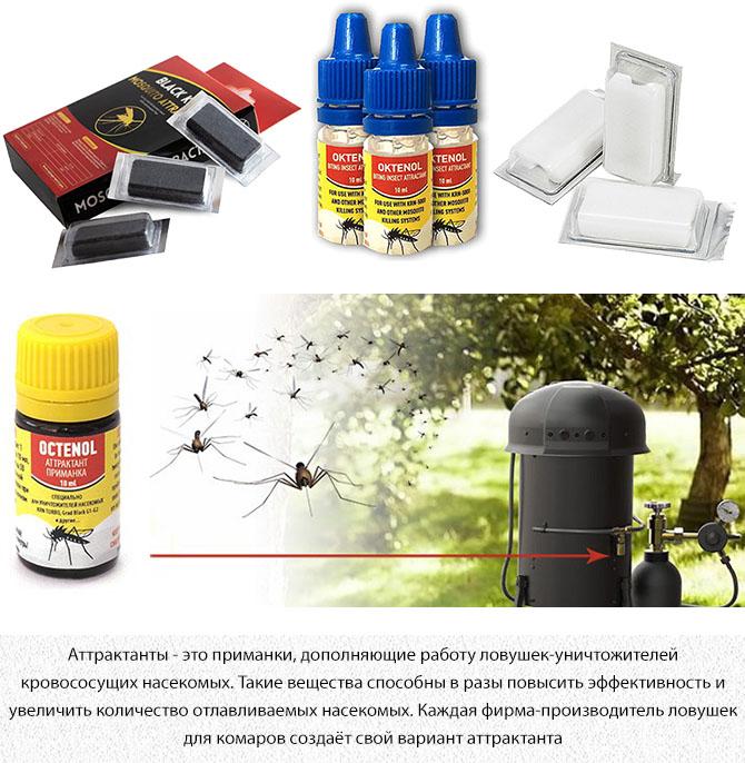 Аттрактанты для комаров