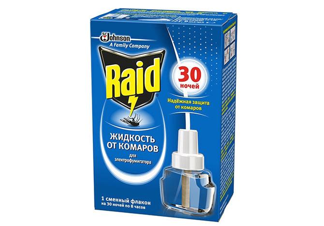 Жидкость от комаров Raid