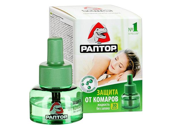 Жидкость от комаров для фумигатора Раптор