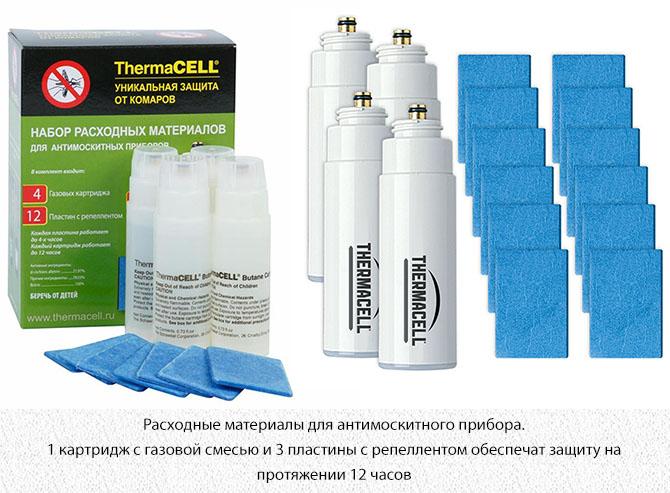 Набор расходных материалов для прибора Thermacell