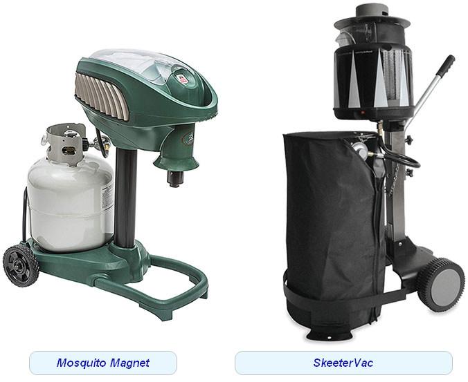 Газовые уничтожители комаров Mosquito Magnet и SkeeterVac