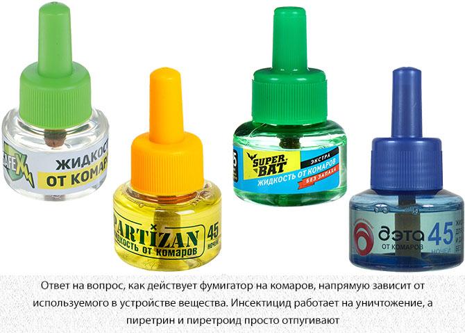 Жидкость для фумигаторов от комаров