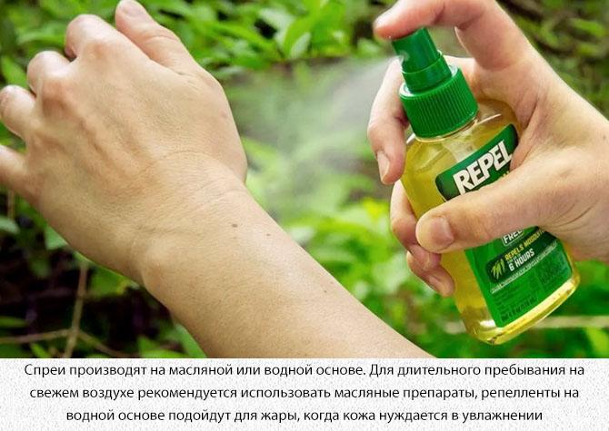 Спрей от комаров