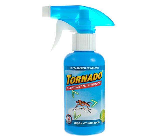 Спрей от комаров Tornado