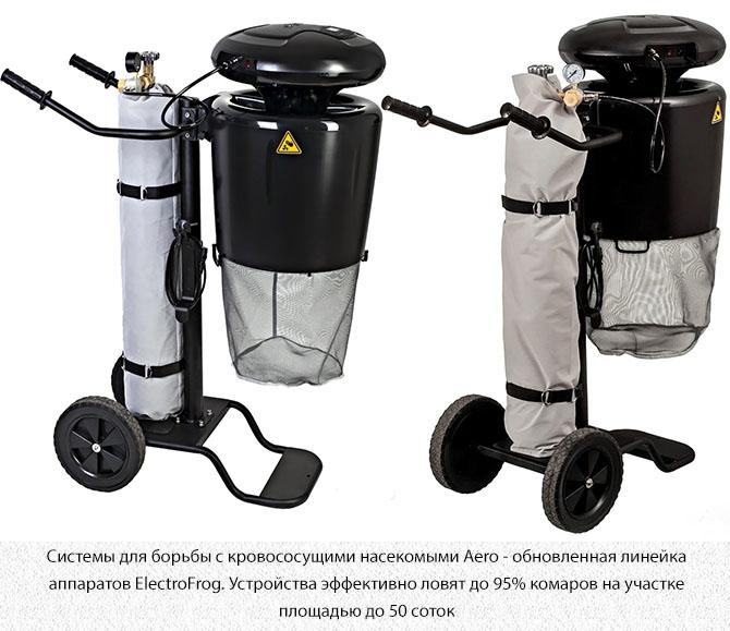 Системы для борьбы с кровососущими насекомыми Aero