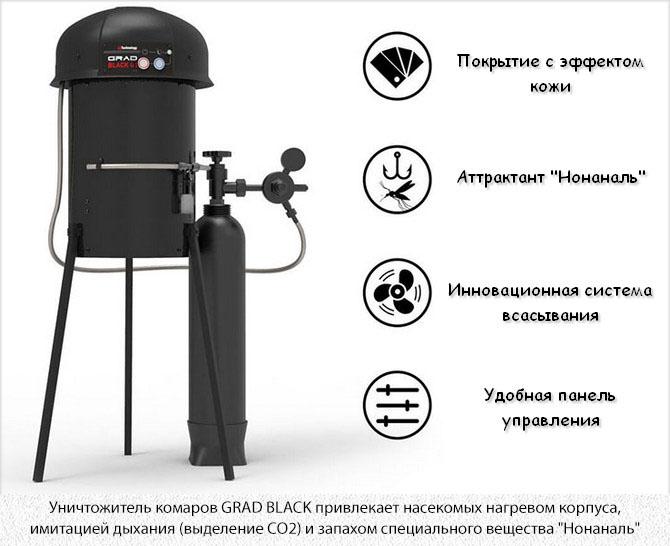 Grad Black от комаров