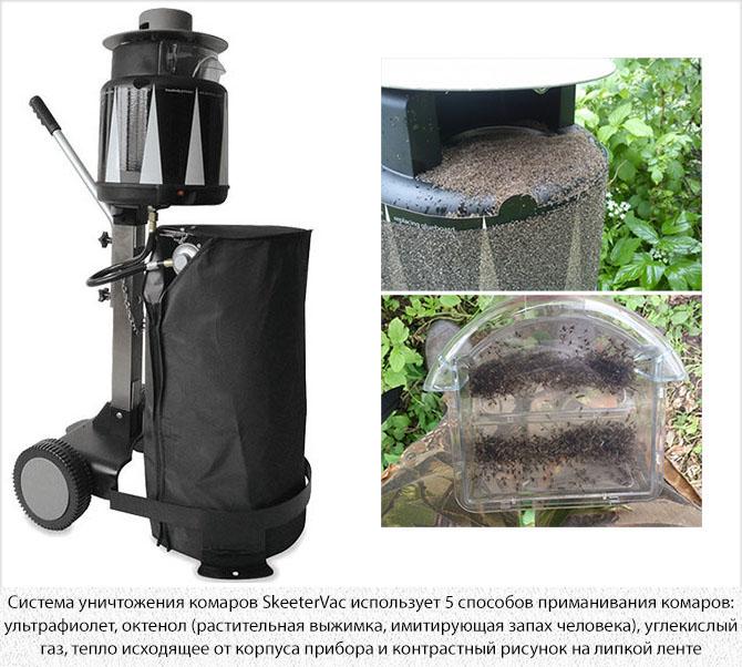 Ловушка комаров SkeeterVac